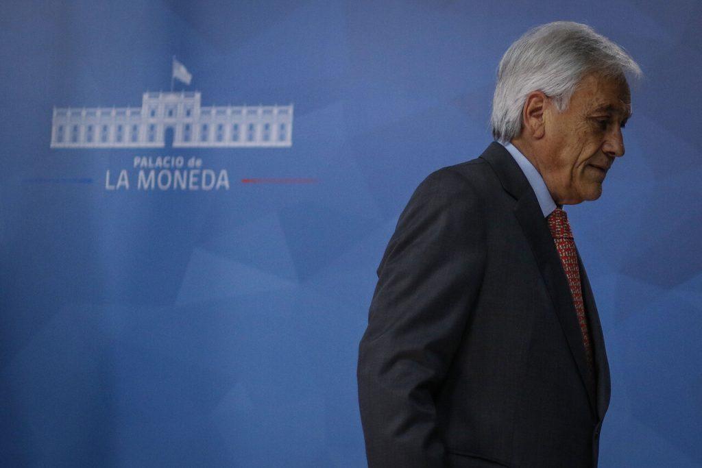 19 de octubre del 2019/SANTIAGO El presidente de la Republica, Sebastian Piñera, frena el alza del pasaje del Metro. FOTO: AGENCIAUNO.