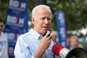 Joe Biden, candidato presidencial del partido demócrata.