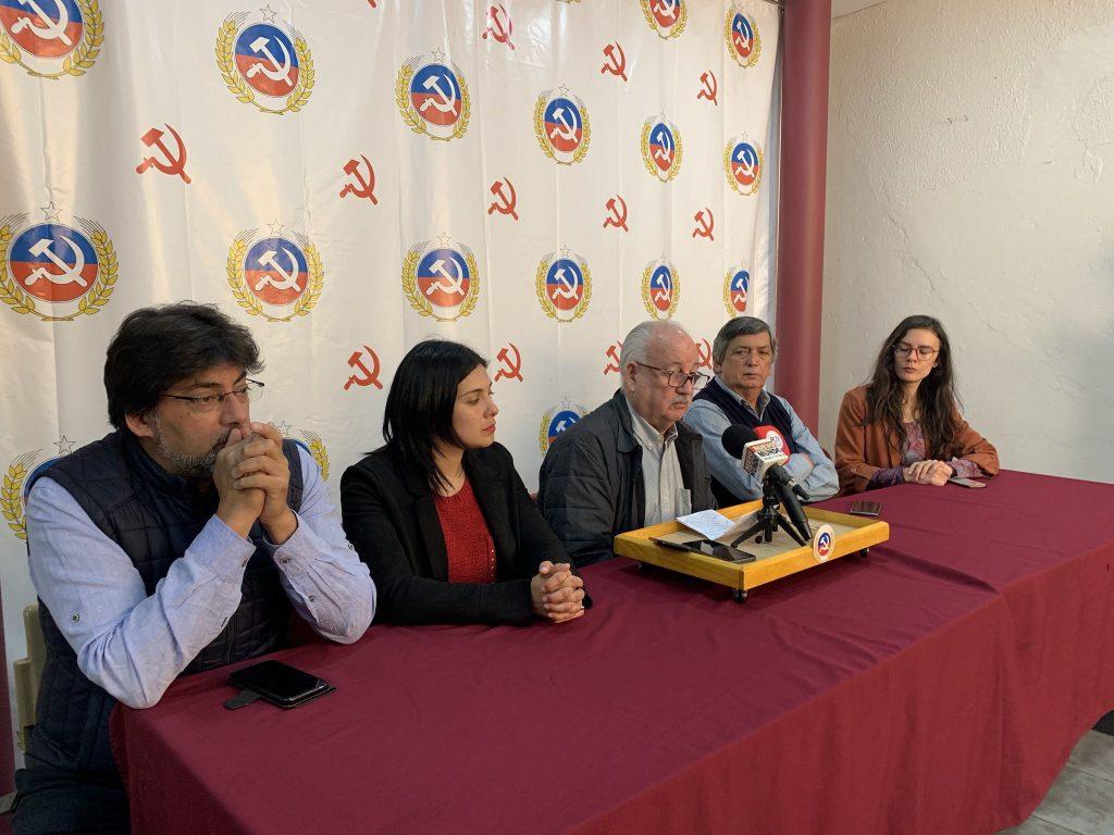 Partido Comunista, el sábado 19 de octubre