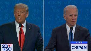 Transmisión de C-span del último debate presidencial de EE.UU.