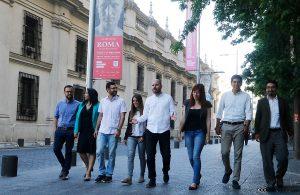 Los parlamentarios electos de Revolución Democrática. Foto: Agencia Uno.